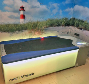 medi-stream-Spa-Wassermassageliege
