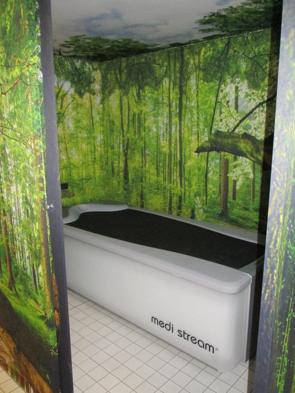 Medi Stream Therapieliege Rehazentrum bei der Therme Bad Waldsee